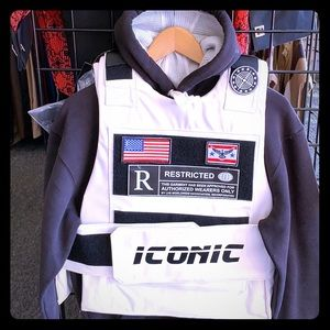 Bulletproof style vest iconic icons Hudsn style